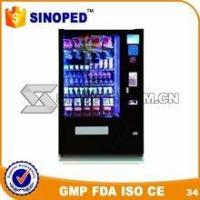 Buy cheap Automatic Snack Digital Drink/Sandwich/Snack/Salad Outdoor Condom Vending Machine from wholesalers