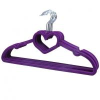 Buy cheap Hangerworld Flocked Valentine Hangers/Clothes Hanger with Loving Heart from wholesalers