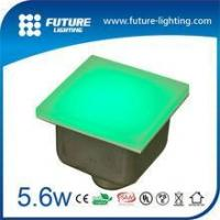 Buy cheap LED Tile Light Outdoor high quality 200*200mm 4W Toughened Glass RGB led lighted floor tiles from wholesalers