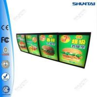 Buy cheap Advertising led display restaurant menu board from wholesalers