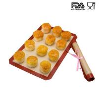 Buy cheap Silicone Filberglass Baking Mat Best price silicone mat from wholesalers
