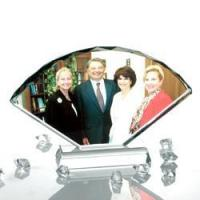 Buy cheap Fan-shaped crystal screen from wholesalers