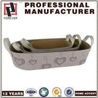 Buy cheap New Basket Leather pu design custom car basket in bulk product