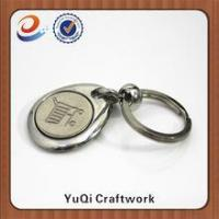 Buy cheap High quality new design promotional metal coin holder keychain from wholesalers