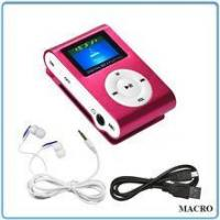 Buy cheap MP3 Player Rechargeable FM Pocket Radio MP3 Player from wholesalers
