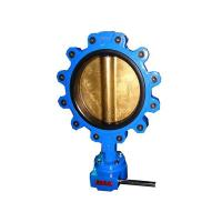 Buy cheap Lug butterfly valve with aluminum bronze disc from wholesalers