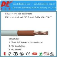 Buy cheap H05ZZ-F H07ZZ-F 3 Cores Copper Conductor Flexible Electric Cable from wholesalers
