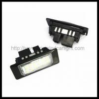 Buy cheap LED License Plate Light AUDI/VW LED Licese Plate Light from wholesalers