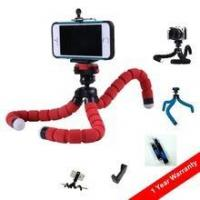 Buy cheap PT100 China OEM ODM Photo accessories flexible tripod with mobile phone tripod holder mount from wholesalers