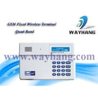 Buy cheap and Industry security system GSM Fixed wireless terminal/GSM dialer WH-G1 from wholesalers