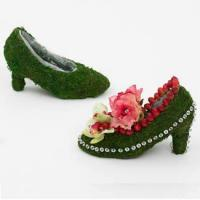 Buy cheap Preserved Moss Boot Planter from wholesalers