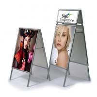 Buy cheap Classical Double Sides Poster Stand from Wholesalers