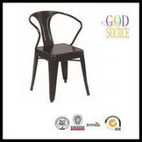 cheap steel industrial retro cafe metal dining chair