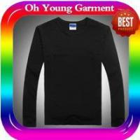 men long sleeve collar t-shirt custom long sleeve t shirt made in china