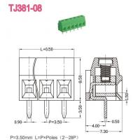 Buy cheap Euro Terminal Blocks -- TJ Series TJ381-08 product