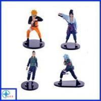 Buy cheap Custom Polyresin Anime Naruto Action Figures 4PCS Set from wholesalers