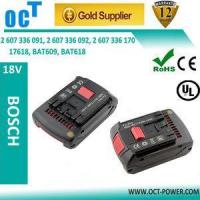 Buy cheap Bosch battery 18v 3ah replacement battery for bosch 2 607 336 091 from wholesalers