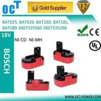 Buy cheap BAT038 BAT040 BAT041 BAT140 for bosch 18V 2000mAh Battery from wholesalers