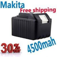 Buy cheap Sanyo Cell Replacement Battery for Makita 194205-3 BL1830 LXT400 Power Tool Battery 4500mA product
