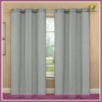 linen window panels with gromments for home textile in 2015