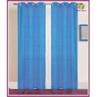 pure color panel pair plain voile curtain