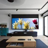 Buy cheap High definition motorized electric 120 inch projector screen from wholesalers