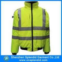Buy cheap reflective yellow safety men jackets from wholesalers