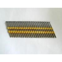 Buy cheap 21  Full Round Head Strip Nails - Plastic Collated from wholesalers