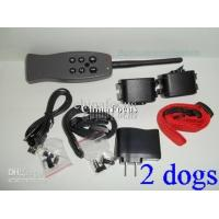 Buy cheap For 2 Dogs REMOTE CONTROL DOG TRAINING SHOCK COLLAR Dog Training & Obedience free shipping 1pcs from wholesalers
