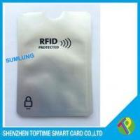 Buy cheap Anti Thief Waterproof aluminum foil card sleeve protect your credit card from wholesalers