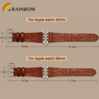 Buy cheap Genuine Leather Watch Band from wholesalers