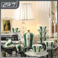Wholesale fine porcelain coffee set for coffee shop / bar / club