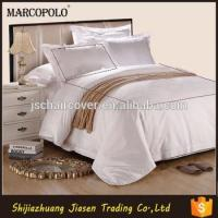 Buy cheap Thread Count Egyptian Cotton Hotel Bed Sheet Linen Set/hotel Bedding Set 140x200 from wholesalers