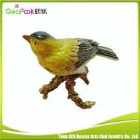 Buy cheap Cheap wholesale bird shape magnetic jewelry box from wholesalers