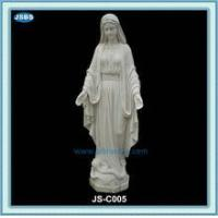 Buy cheap cheap white marble statue of mother mary product