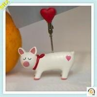 Buy cheap Promotional FUNNY PIGGY memo clip holder OEM memo pad holder plastic clip from wholesalers