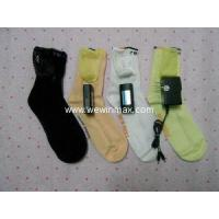 Buy cheap heating socks with lithium rechargeable battery and charger www.wewinmax.com from wholesalers