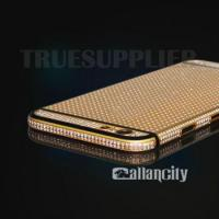 Buy cheap 24 karat gold and diamond housing for iphone6s product