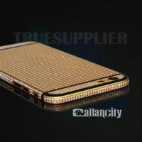 Buy cheap diamond encrusted 24k gold edition housing for iPhone 6s product