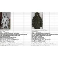 Buy cheap Camo Suites/Nets Product Ghillie Suit from wholesalers