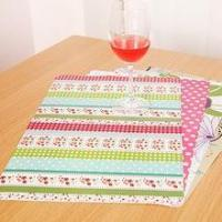 China Factory price cheap holiday promotion gift christmas paper placemats on sale