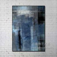 Buy cheap Framed abstract hand painting from wholesalers