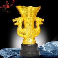 Buy cheap Large dual dragon statues from wholesalers