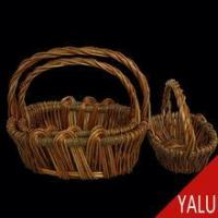 Buy cheap wicker product gift basket W-09108 product