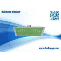 Buy cheap Mounted Overhead Shower Head Without Diverter , square rain shower head SH-3563 from wholesalers