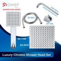 Buy cheap Shiny Chrome Combination of Luxury Shower Head Set from wholesalers