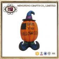 Buy cheap Holiday Products Vintage Halloween Resin Decoration Spooky Pumpkin product