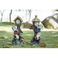 China custom home decoration garden sweetey resin gnome solar light on sale