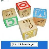 Buy cheap Alphabet Blocks - Super Bird Creations 1 1/8, 12 ct. from wholesalers