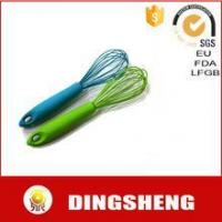 Buy cheap Food grade silicone stainless steel whisk egg beater from wholesalers
